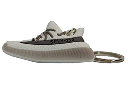 ae8f3ce63c8 ... coupon yeezy boost 350 v2 fashion key chains 2d black red breds 485ad  a94a4