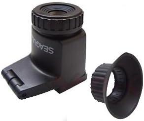 Seagull - Visor de aumento 2,3 x para cámara Canon Nikon Pentax ...