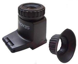 Gaviota 2,3 x Ampliación Visor para Canon, Nikon, Leica, Pentax ...