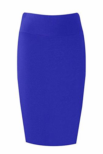 Asfashion Online Women's Midi Tube Skirt Us 10/12 Blue