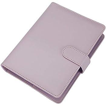 Amazon.com: kikki.K A5 Leather Notebook: Pink: Gartner Studios