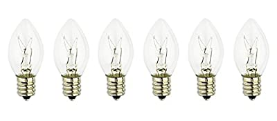 WBM B15 Himalayan Light Original Replacement Bulb 15W Incandescent Bulbs, Set of 12