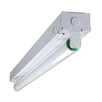 3 Ft 1 Lamp Fluorescent Strip Light - Lighting Fixtures