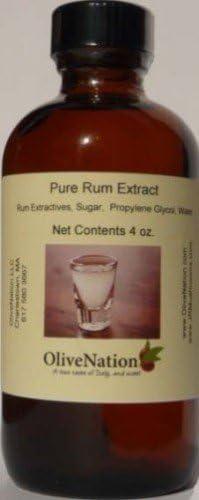 OliveNation Sabor a ron puro sabor a ron natural para mejorar las recetas 4 oz