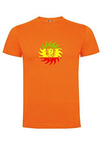 Orange shirt Marley Tee Soleil Bob wgSXnqR