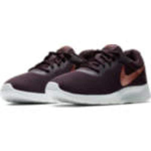 Nike Women's Tanjun Shoe Burgundy Ash/Metallic Red Bronze Size 9 M US