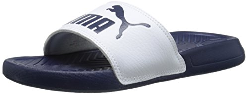 Puma Mens Popcat Glid Sandal Peacoat / Vit