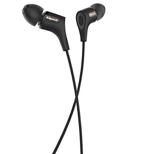 Klipsch R6 II In-Ear Headphone Black In-Ear Headphone - Blac