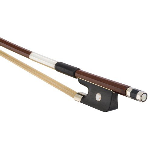 Brazilwood Student Bass Bow 1/4 Size French