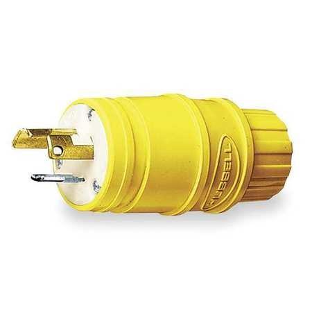 15p Plug 2p 3w (15A Locking Plug 2P 3W 125VAC L5-15P YL)