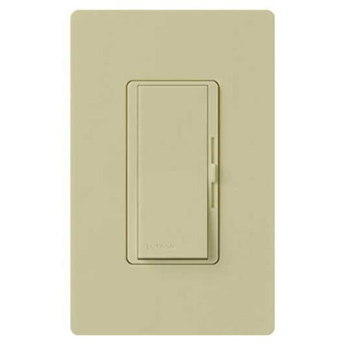 Lutron DVELV-300P-IV Diva 300-watt Single Pole Electronic Low-Voltage Dimmer, Ivory
