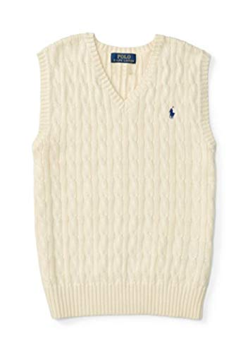 RALPH LAUREN Boys > Sweaters > Cable-Knit Cotton Sweater - Lauren Boys Vest Ralph Sweater