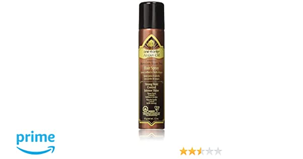 Amazon.com : One n Only Argan Oil Hair Spray, 1.5 Ounce : One N Only Hairspray Argan Oil : Beauty