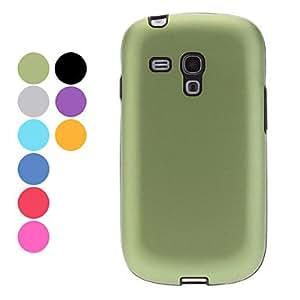 Durable Aluminium Alloy Hard Case for Samsung Galaxy S3 mini I8190 (Assorted Colors) --- COLOR:Blue