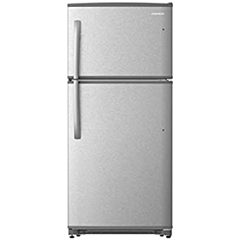 Daewoo RTE21GBSLS Top Mount Refrigerator, 21 Cu.Ft, Stainless, includes delivery and hookup