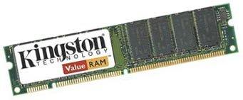 Kingston ValueRAM 256MB PC133 SDRAM DIMM Desktop Memory KVR133Q/256R (Retail) ()