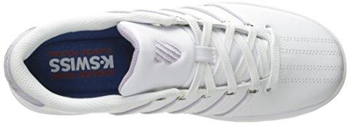 K-swiss Dames Court Pro Ii Fashion Sneaker Wit / Misty Lilac