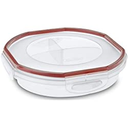 Sterilite 03918606 4.8 Cup Clear UltraSeal Rounded Dish
