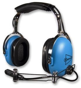 Radio Noise Aircraft (Sigtronics S-20 PNR Passive Noise Reduction Aviation Headset (Metal Boom))
