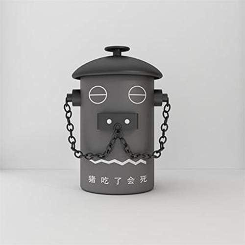 クリエイティブなレトロなゴミ箱、消火栓の形、屋外のゴミ箱、家庭用ごみ箱、4色が用意されています