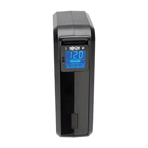 037332124999 - Tripp Lite 1000VA Smart UPS Battery Back Up, 500W Tower, 8 Outlets, LCD Display, AVR, USB, Tel / DSL / Coax Protection (SMART1000LCD) carousel main 5