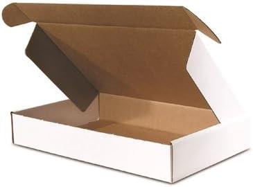 包装の卸売業11 – 1 /8 x 8 – 3 /4 x 2インチフロントロックデラックス文学Mailer、50-count (bsmfl1182 )