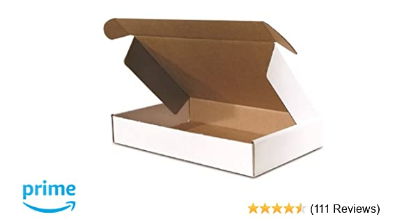 The Packaging Wholesalers Shipping Boxes Brown 25-Count 2-Pk 4 x 4 x 4 Inches
