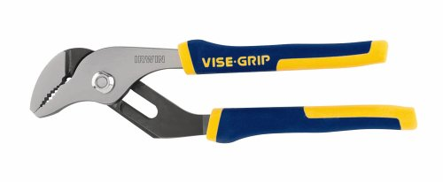 IRWIN Tools VISE-GRIP Groove Joint V-Jaw Pliers, 8-Inch (2078508)