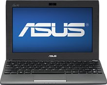ASUS 1025C-BBK301 Eee PC Netbook Computer / 10-inch Display Screen / Intel Atom N2600 1.6 GHz Dual-core Processor / 1GB DDR3 RAM Memory / 320GB Hard Drive / 3-cell Battery / Webcam / HDMI / Windows 7 Starter / (Asus Mobile Pc Eee Pc)