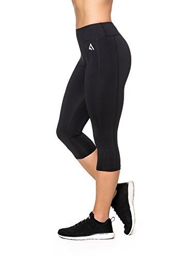 36d8003b78 Active1st Women's Yoga Pants Sport Leggings – High Waist, Capri, Tagless
