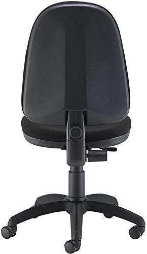 Jakroo Président de La Rédaction Hauteur Ajustable Chaise Roulante Pivotante Chaise D'ordinateur en Maille pour Adultes Debout Tabouret de Bureau (Noir)