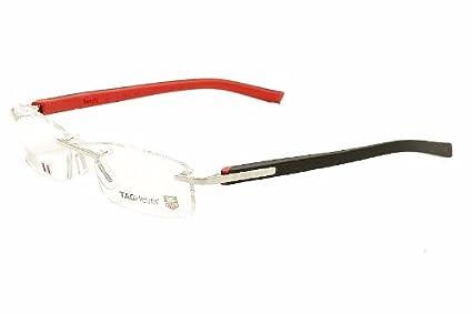 TAG Heuer Men's 8108 Trends Rimless Designer Eyeglasses