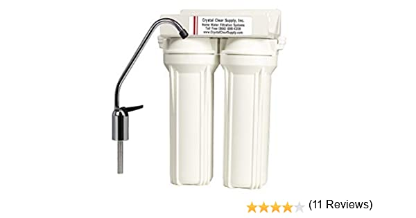 Custom doble bajo encimera filtro de agua purificador con cerámica ...