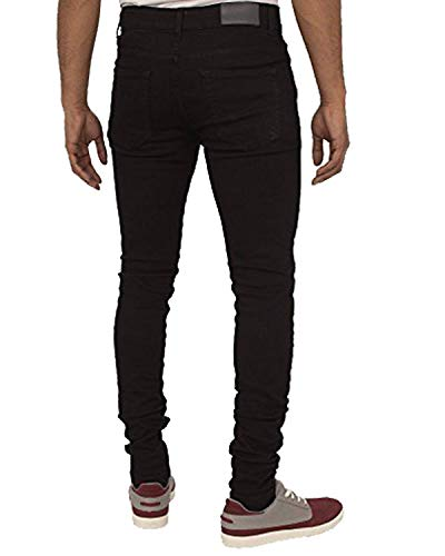 Enzo Super Skinny Stretch Jeans for Men – Denim – Range of Waist Sizes and Colours Available
