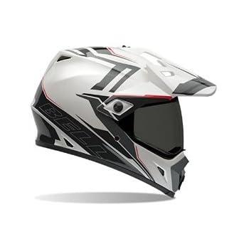 Bell Dual Sport Helmet >> Amazon Com Bell Mx 9 Adventure Barricade Red Dual Sport Helmet X