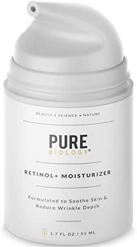 Premium Retinol Cream Face Moisturizer with Hyaluronic Acid, Vitamins B5, C & E, Argan Oil & Breakthrough Anti Aging, Anti Wrinkle Complexes – Face, Neck & Eye Cream Skin Care for Men & Women