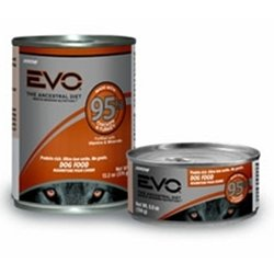 EVO 95% Turkey and Chicken Canned Dog Food (5.5 oz. (24 in case)), My Pet Supplies