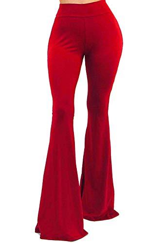 Solid Red Leggings - 8