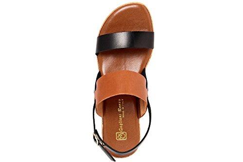 GAGLIANI RENZO - Sandalias de vestir de Piel Lisa para mujer negro negro