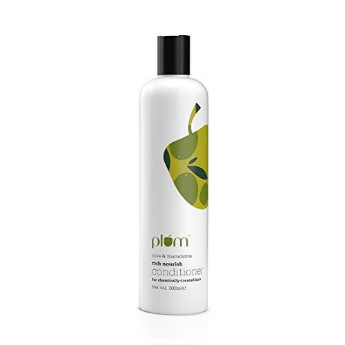 Plum Olive & Macadamia Rich Nourish Conditioner | Dull, Dry, Damaged Hair | 100% Vegan | Silicone Free SLS-Free | Damage…