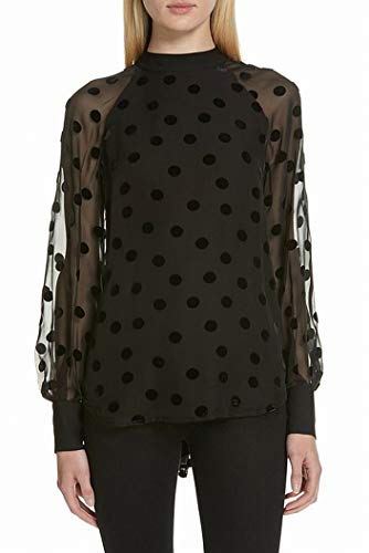 Equipment Women's Nash Blouse, True Black, Large ()