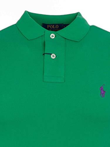 Ralph Lauren Coton Homme Polo Vert 710536856137 ZZ0Hrqpw