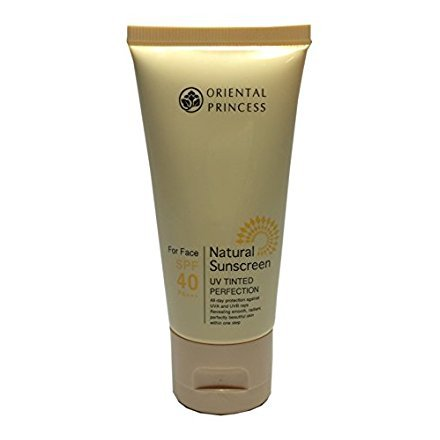 Oriental Princess Natural Sunscreen UV Tinted Perfection For Face SPF 40 (1.7 (Pca Spf 15 Moisturizer)
