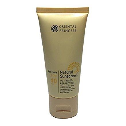 Oriental Princess Natural Sunscreen UV Tinted Perfection For Face SPF 40 (1.7 Oz.) (Natural Princess)