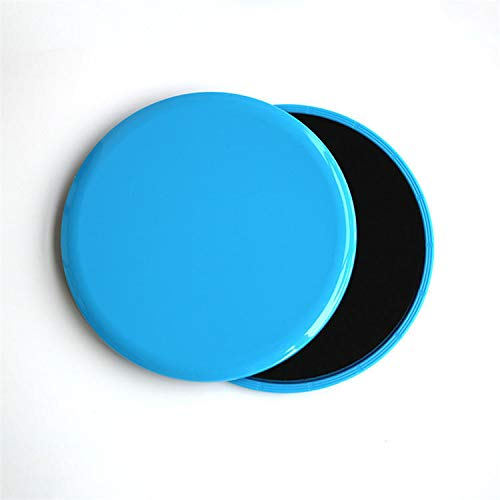 KALOAD Max Load 300kg Gliding Discs Sport Yoga Fitness Discs Slide Abdominal Workout Exercise Tools - Blue