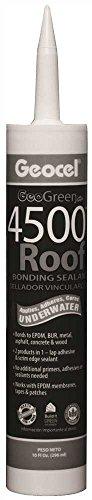 Asphalt Roof (GEOCEL GC55103 4500 Roof Bonding Sealant, 10.1 Ounce Cartridge, Black)