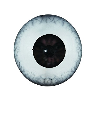Disguise Giant Eyeball Mask Costume Accessory, White/Black, One Size (Giant Masks Halloween)