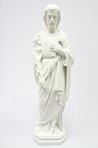 26'' Saint Joseph the Worker Catholic Christianity Religious Statue Figure Made in Italy by Vittoria Collection