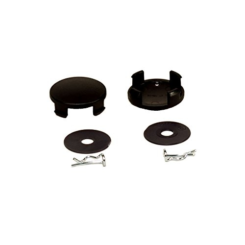 Chicco Bravo Stroller - Replacement Rear Wheel Set - Pins & Hubcaps by Chicco