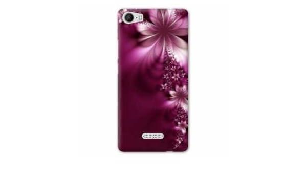 Amazon.com: Case Carcasa Wiko Fever 4G fleurs - - violet ...